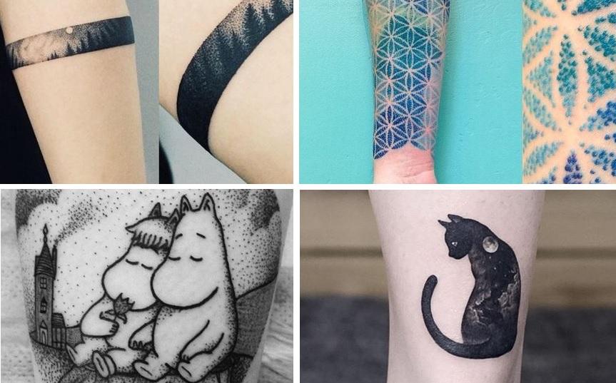 Trendi, de maradandó: a dotwork tetoválás
