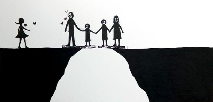 Hogyan hat a gyerekre a válás? - Ez igen erős képregény lett