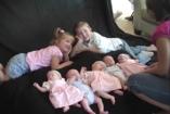 Tíz év, hét gyerek, öt iker (VIDEÓ)