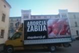 Kemény látvánnyal sokkol a lengyel teherautó
