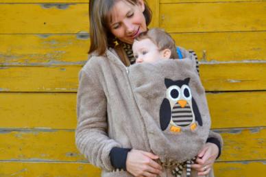 Hogyan hordozzuk télen a babát?