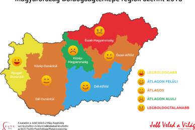 Boldogságtérkép: A házasok és több gyermeket nevelők boldogabbak