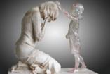 """Elkészült a """"Meg nem született gyermekek"""" szobra"""