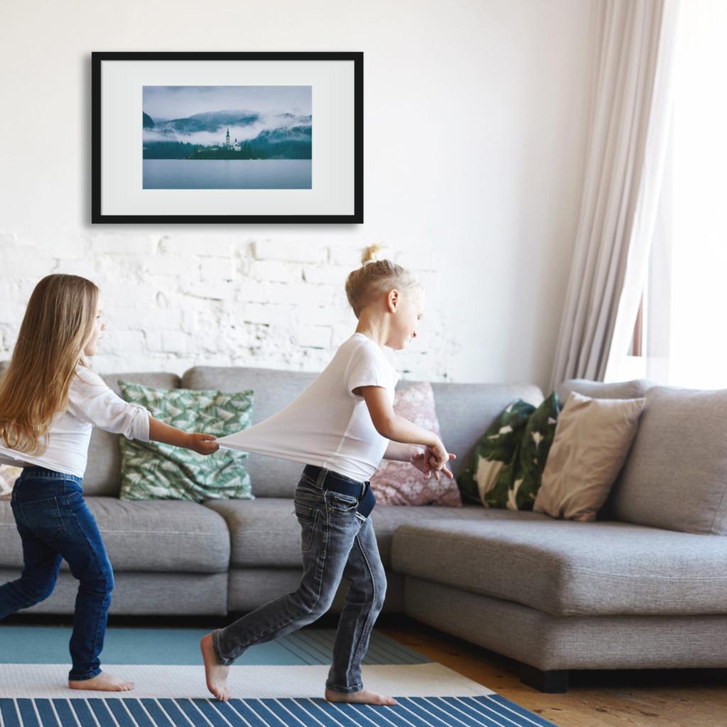 7 tipp, hogyan varázsold otthonossá a lakásod képekkel!