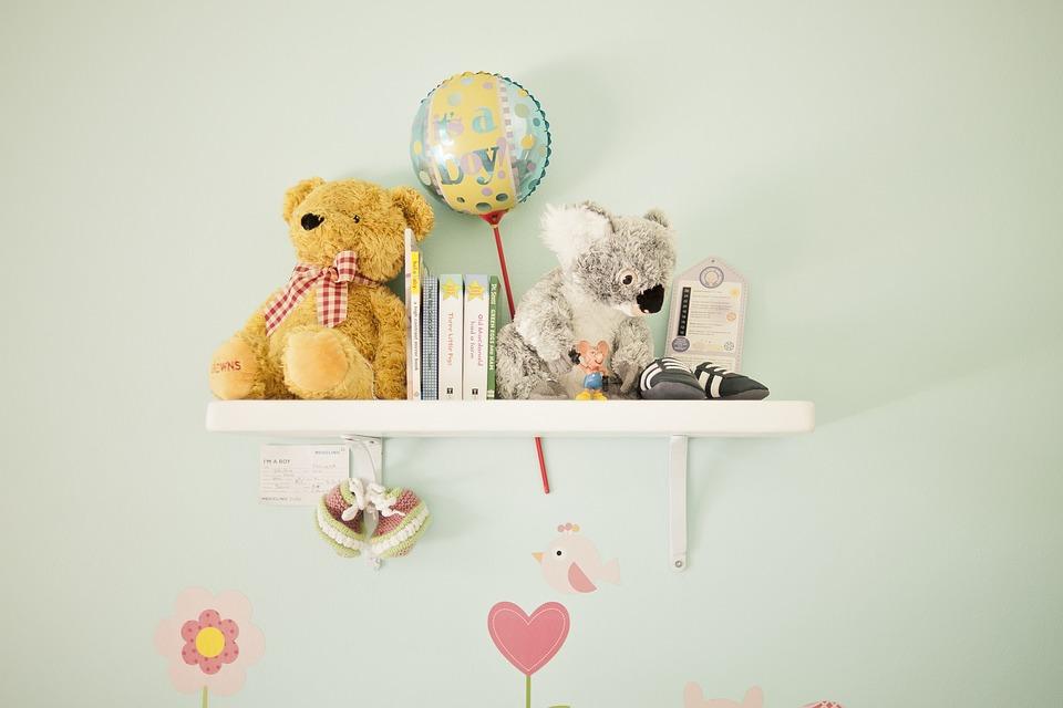 Praktikus lakberendezés a gyermekszobában