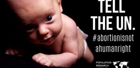 Petíció: az abortusz ne lehessen emberi jog!