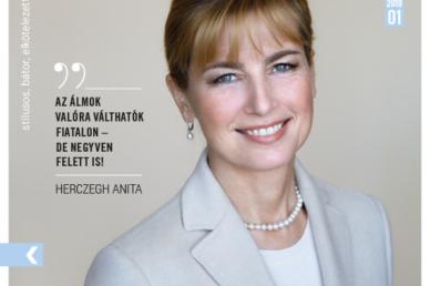 Herczeg Anita családról és hivatásról vall a januári Képmásban