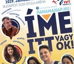 """""""Íme itt vagyok!"""" – Panama-nap lesz Budapesten az ifjúsági világtalálkozó idején"""