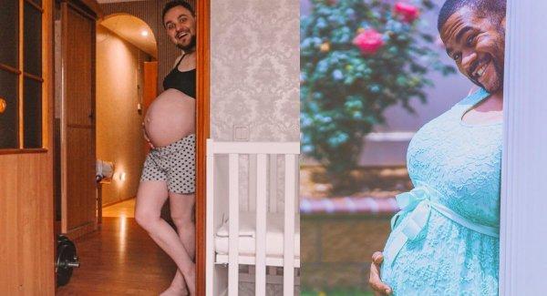 Fura fotós trend: amikor apának van pocakja
