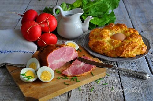 Klasszikus húsvéti reggeli